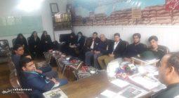 دیدار اعضای دفتر بسیج دانشجویی با فرمانده سپاه برخوار