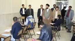 حضور ۴۰۰ شرکت کننده در آزمون مسابقه بزرگ مطلع مهر در دولت آباد