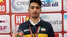 کشتی گیر برخواری، نایب قهرمان مسابقات نوجوانان جهان در کشور مراکش