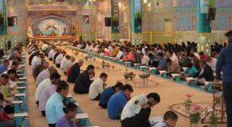 مراسم جزء خوانی قرآن کریم در امامزاده نرمی برخوار/ تصاویر