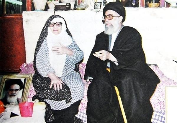 گفتگوی منتشر نشده مادر رهبر معظم انقلاب +صوت