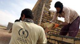 همپای همت جهادی جوانان بسیجی زمان آباد برخوار در محرومترین نقطه اصفهان