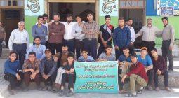 تلاش جهادی بسیجیان پایگاه شهید مطهری زمان آباد در روستای بنذر/ تصاویر
