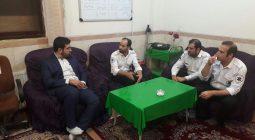 بازدید سرزده فرماندار برخوار از نهادهای امدادی در بامداد روز گذشته