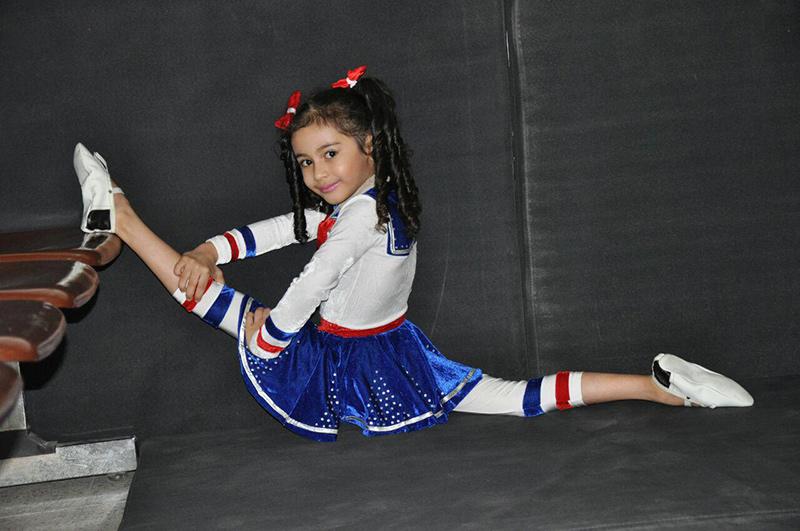 اولین دوره میزبانی شهرستان برخوار از برگزاری جشنواره مسابقات ژیمناستیک دختران استان