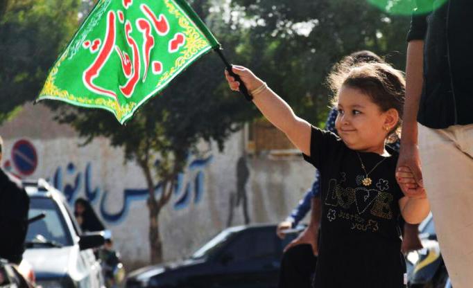 حرکت نمادین کاروان حضرت سید الشهدا (ع) در دستگرد برخوار /تصاویر