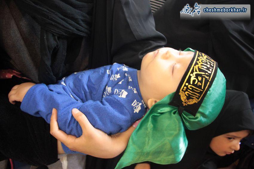 همایش عظیم شیرخوارگان حسینی شهرستان برخوار به روایت تصویر