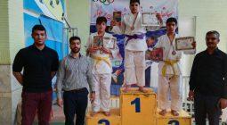 اسامی مدال آورانمسابقات قهرمانی جودو شهرستان برخوار+ تصاویر