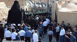 مراسم عزاداری مردم سین برخوار در روز عاشورا / تصاویر