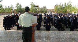 سرهنگ براتی: نیروی انتظامی مقتدرانه در مقابل جرایم و بزهکاریها می ایستد
