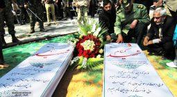 زیارت شهدای گمنام شهرستان در روز شهادت مادرشان حضرت زهرا (س)/تصاویر