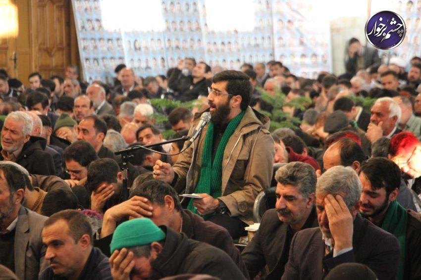 منتظران موعود در آستان امامزاده ابراهیم (ع) نرمی/تصاویر