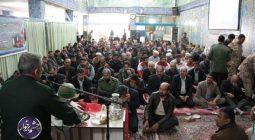 مراسم بزرگداشت شهدای تروریستی زاهدان در مسجدجامع دولت آباد/تصاویر