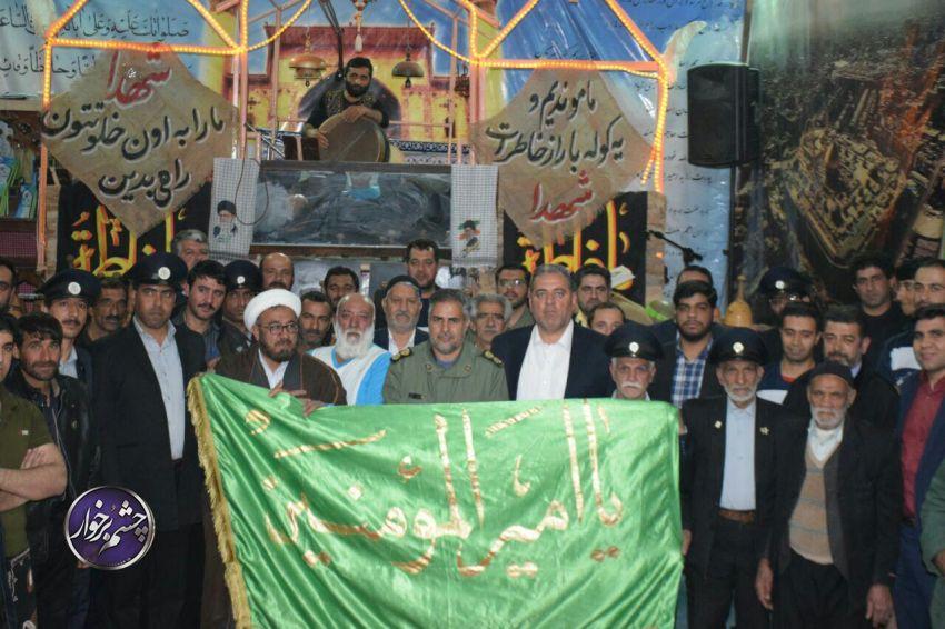 اجرای ورزش پهلوانی و زورخانه ای یادبود شهدای حریم امنیت سپاه