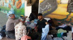 خدمت رسانی جهادگران زمان آباد برخوار به سیل زدگان خوزستان