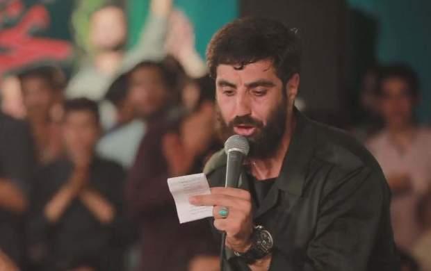 شعرخوانی سیدرضانریمانی در حمایت از سپاه +فیلم