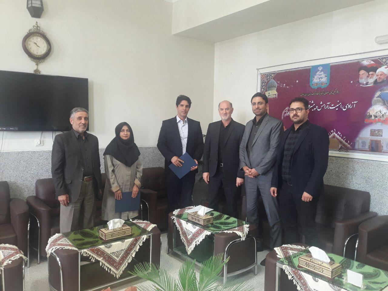صالحی، رییس اداره ورزش و جوانان برخوار شد