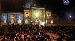 نجوای عاشقانه مردم برخوار در شب نوزدهم ماه رمضان/ تصاویر