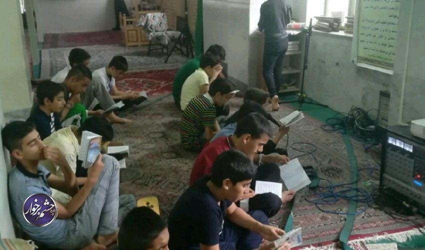 برگزاری طرح اعتکاف علمی توسط حوزه بسیج دانش آموزی برخوار +تصاویر