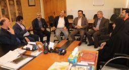 نشست صمیمی فرماندار برخوار با فرمانداری شاهین شهر +عکس