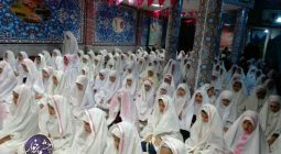جشن روزه اولی ها در حسینیه قمربنی هاشم شهر خورزوق برگزار شد+تصاویر