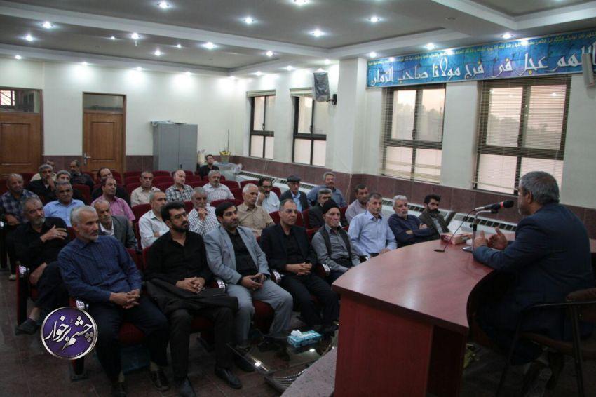 بازنشستگان شهرداری دولت آباد، میهمان ضیافت افطاری شهردار | تصاویر