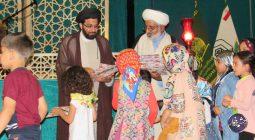 حضور محمدحسین طباطبایی در بین نونهالان قرآنی برخوار |تصاویر