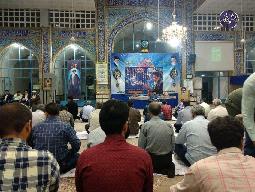 مراسم ارتحال امام خمینی و بزرگداشت شهدای قیام ۱۵ خرداد در دستگرد برخوار برگزار شد| تصاویر