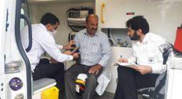 تاکنون۱۴ هزار نفر از مردم برخوار برای تست فشار خون اقدام کرده اند +تصاویر