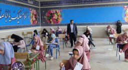 آزمون مدارس استعدادهای درخشان ورودی پایه هفتم در برخوار برگزار شد +تصاویر