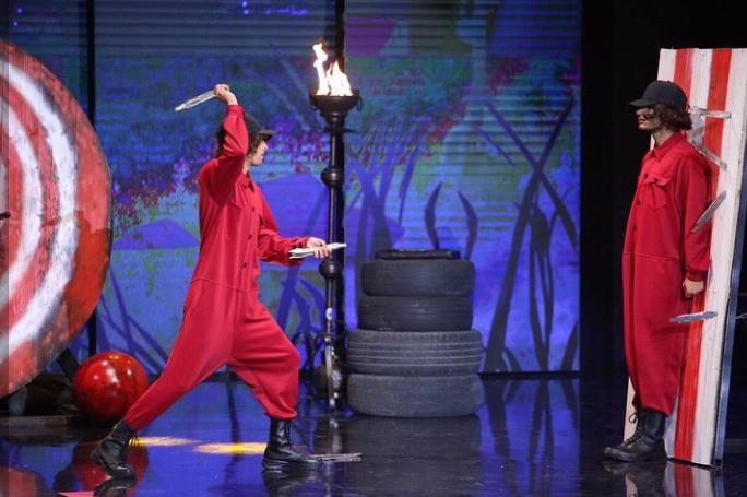نمایش اجرای محمد زارع اولین اجرای نیمه نهایی عصرجدید