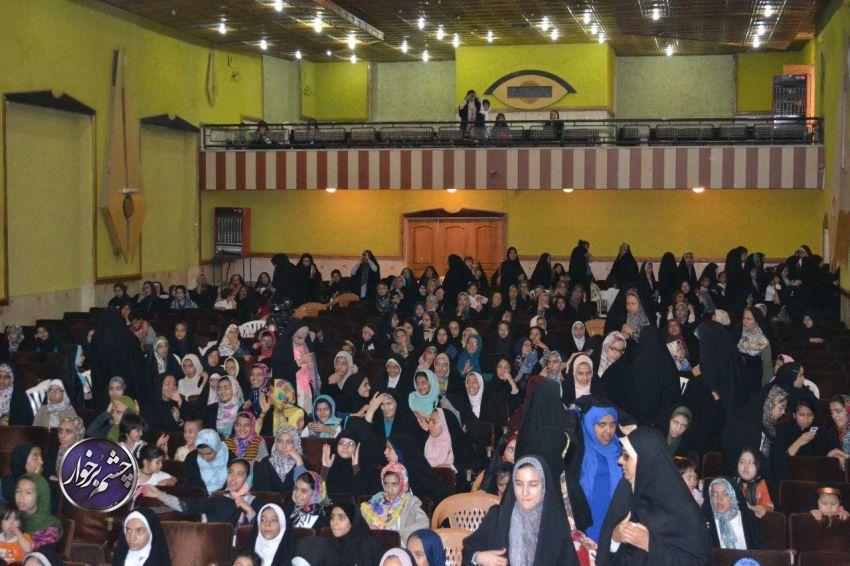 جشن میلاد حضرت معصومه (س) در دولت آباد برگزار شد| تصاویر