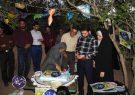 جشن تولد 7سالگی چشم برخوار در  محروم ترین روستای برخوار |تصاویر