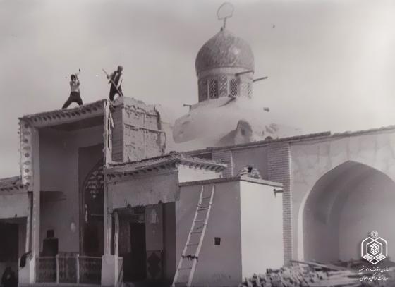 داستان زنی که دستش به ضریح امامزاده نرمی چسبید
