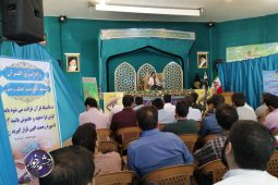 برگزاری مرحله استانی مسابقات قرآن و معارف سپاه در امامزاده ابراهیم ع