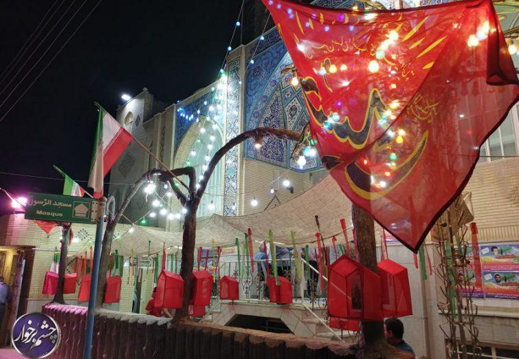 نهمین یادواره 14 شهید محله لودریچه برگزار شد  تصاویر