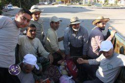 خدمت رسانی بسیجیان برخوار در مناطق سیل زده پلدختر تصاویر