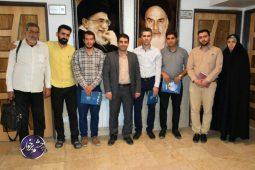 آیین تجلیل از خبرنگاران و فعالان رسانه شهرستان برخوار به مناسبت ۱۷ مرداد روز خبرنگار