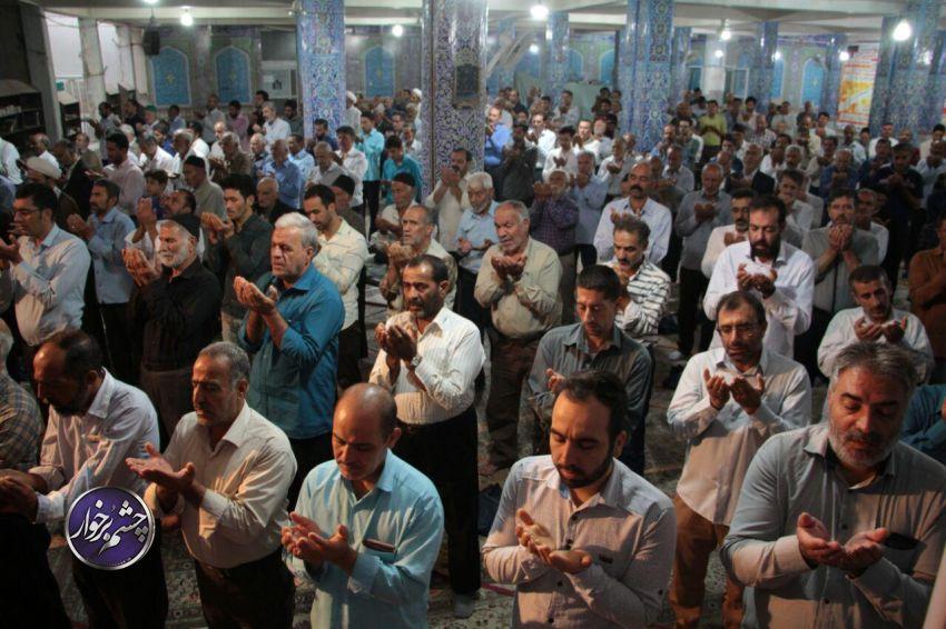 نماز عید قربان شهر #دولت_آباد به امامت حجت الاسلام رحیمی اقامه شد.