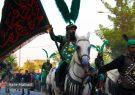 تصاویر   کاروان نمادین ورود به کربلا در حبیب آباد