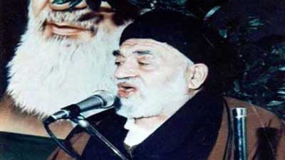 روضه جانسوز مرحوم کوثری در حضور امام خمینی ره +فیلم