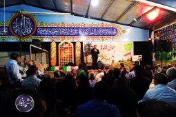 میزبانی بیت الزهراء دولت آباد از شهدا به روایت تصاویر