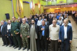 همایش پیشکسوتان ایثار و مقاومت در دولت آباد برگزار شد| تصاویر