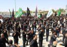 تصاویر|مراسم عزاداری روزعاشورای حسینی با حضور هیئات مذهبی برخوار
