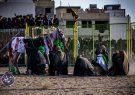 نمایش نمادین واقعه کربلا در دولت آباد برخوار |تصاویر