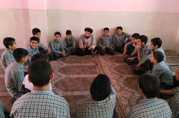 برگزاری طرح اعتلای بسیج آموزشگاه شهید مفتح خورزوق برخوار