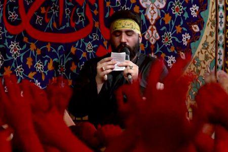 فیلم/ رجزخوانی ای لشکر صاحب الزمان عج بانوای حسین طاهری