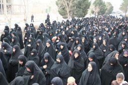 روایت تصاویر از قافله عظیم عزاداران فاطمی در دولت آباد