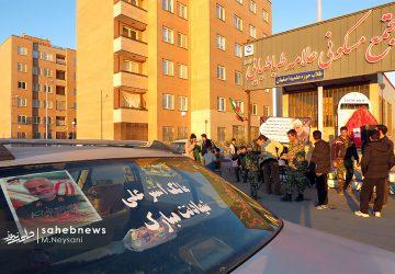تصاویر   سنگ تمام دهه هشتادی های حبیب آبادی ها برای سردار دل ها