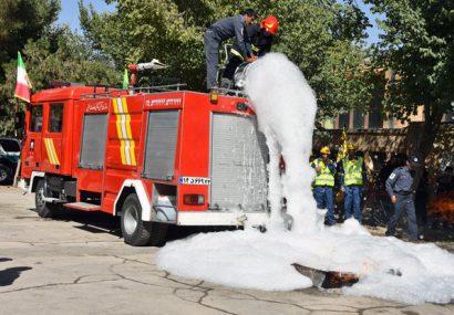 اختصاص سه میلیارد ریال به آتشنشانی «سین»